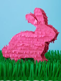 Definitely going to put this bunny on my Easter table! #DIY