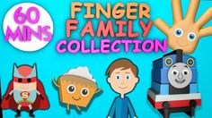 Finger Family Collection - 60 Minutes Finger Family Songs - Daddy Finger...