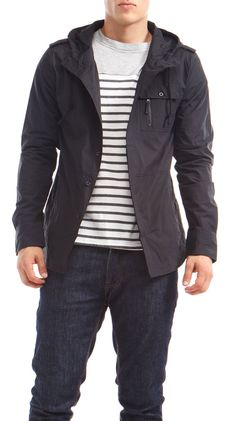 Stripes and jacket