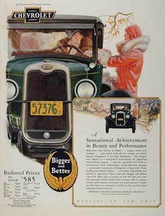 1920's Car Buying Advertisement Targeting Women Drivers