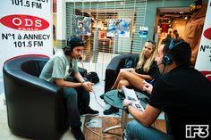 #kevinrolland Interviewé à ODS Radio pendant l'iF3 Europe à Annecy !