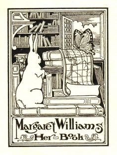 Love all of the books in this bookplate. S