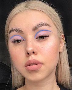 Edgy Makeup, Makeup Eye Looks, Eye Makeup Art, Cute Makeup, Pretty Makeup, Skin Makeup, Makeup Inspo, Makeup Ideas, Makeup Tips