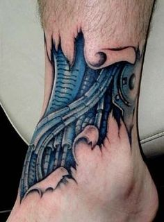 Biomechanical Tattoos, Designs And Ideas : Page 55
