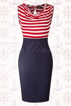 Steady Clothing Sally Wiggle Navy Red 100 31 15102 06262015 04aW