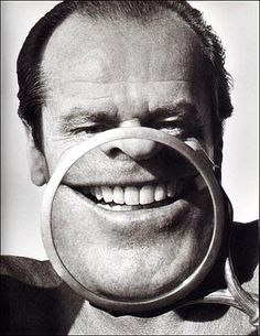 Jack Nicholson (1937) - American actor, film director, producer, and writer.  Photo by Herb Ritts (1986)