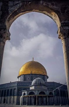 Al Qudus, Palestine Dome Of The Rock, Dance Paintings, Beautiful Mosques, Islamic Architecture, Islamic Pictures, Holy Land, Islamic Art, Taj Mahal, Around The Worlds