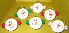 Snowman+Crafts | Snowman Pins - Crafts and Decorations Forum - GardenWeb
