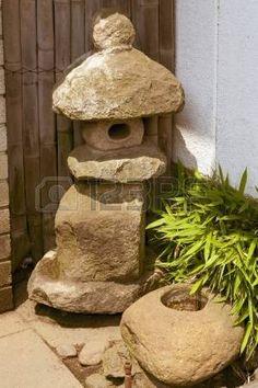 nozura doro rustic granite lantern with size options all. Black Bedroom Furniture Sets. Home Design Ideas