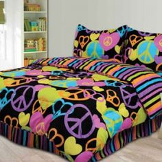 Looking to create your own Peace Sign themed bedroom? Peace signs are one of the most recognizable symbols in the world and make an amazing themed...