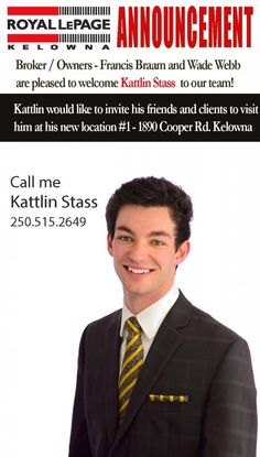 Welcome To The Team Kattlin | Royal LePage Kelowna Real Estate