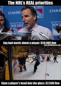 The NHL's real priorities