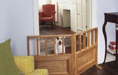 How to make a free standing dog gate for your home