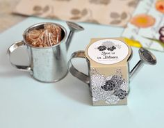 Watering Can Planting Kit Favors