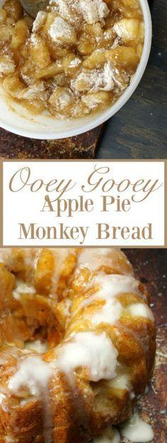 Apple Pie Monkey Bread Recipe Apple Pie Monkey Bread Recipe, Homemade Monkey Bread, Coffee Cake, Apple Deserts, Apple Dessert Recipes, Breakfast Bread Recipes, Xmas Recipes, Apple Recipes, Just Desserts