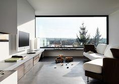 Residencia monolítica
