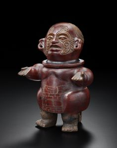 From Teotihuacan in Mexico to BRAFA 2014 in Brussels! This decorative figure with a removable head dates from the late classic period, 100-400 AD. It will be presented by Galerie Mermoz of Paris.