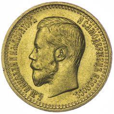7,5 Rubel 1897 Russland Nikolaus II. 1894 - 1917