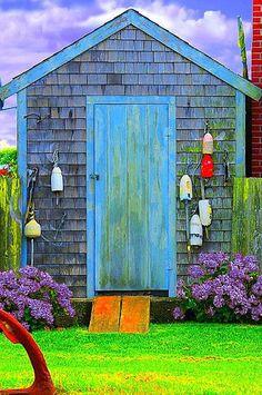 Cute Gardening Shed ~ by Tim Jones