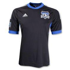 San Jose Earthquakes 2012 Home Replica Soccer Jersey #Soccer #MLS