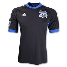 San Jose Earthquakes 2012 Home Replica Soccer Jersey #Soccer #MLS