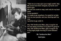 5-Bob Dylan Lyrics With Photos