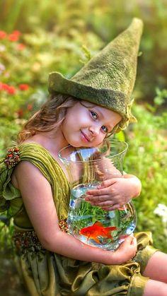 Cute Little Girls, Cute Kids, Cute Babies, Baby Kids, Little Girl Photography, Children Photography, Gato Gif, Kodak Moment, Baby Fairy