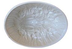 English Ironstone Rabbit Pudding  Mold