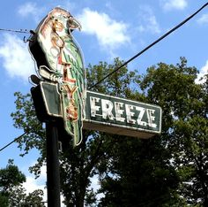 Just up the road, next exit!  Polly's Freeze, Georgetown, Indiana.