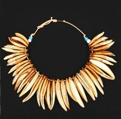 Zulu necklace Tooth Necklace, Kwazulu Natal, Africa, Auction, Drop Earrings, Teeth, Lion, War, Jewelry