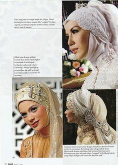 Beautiful Wedding Hijab