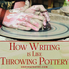 """Jared Schmitz: """"How do you view the early drafts of your writing projects? Do you view them as blocks of stone requiring smoothing and carving into shape, but essentially complete? Or do you view them more as lumps of clay, likely needing to be fully reshaped more than once?"""""""