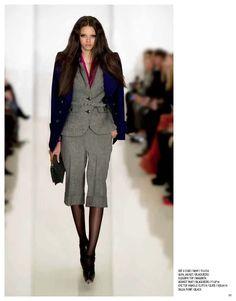 Fay II coat, Alva jacket, Eleanor top, Bennet pant, Eve clutch & Dalia pump