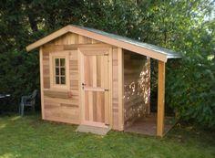 abri de jardin en bois parfait pour ranger ses outils outils