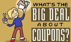 I love my coupons and tips for saving money each day