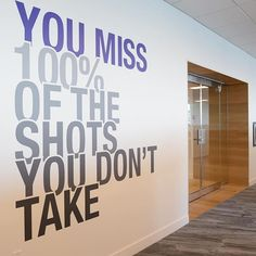 Office Wall Decals, Office Walls, Acl, Inspire Me, Bespoke, Signage, Graphics, Education, Words