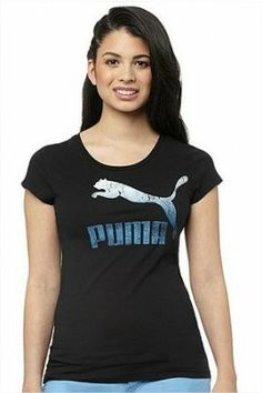 Camiseta Puma Women s Archive Logo T-Shirt Black  Camiseta  Puma Feminino b0b5662ffce85