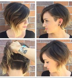 Chic Short Hairstyles for Round Faces
