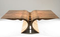 Sanagi: walnut, lacewood , natural oil finish