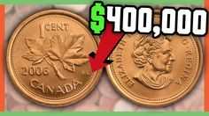 These Canadian Coins can be found in your pocket change! We will look at the Top 10 Most Valuable Canadian Pennies that could be out in circulation today! Valuable Pennies, Rare Pennies, Valuable Coins, Canadian Penny, Canadian Coins, Canadian History, Old Coins Value, Old Coins Worth Money, Penny Values