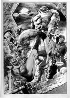 NEBRES, RUDY - Vampirella #88?  Splash Comic Art