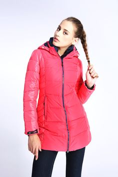 $89.00 WHS Down Jacket Long Sleeve Cotton Winter OutWear