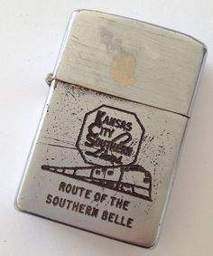 Kansas City Southern Lines - Abelardo's Military Zippo Collection