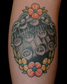 typewriter+tattoo+by+russ+abbot+of+ink+and+dagger+Decatur+GA.jpg 483×603 pixels