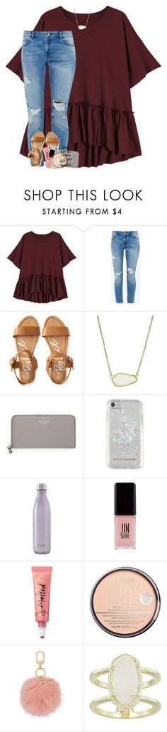 """""""2K?!?! RTD! """" by theblonde07 ❤ liked on Polyvore featuring Ted Baker, Aéropostale, Kendra Scott, Kate Spade, Rebecca Minkoff, S'well, JINsoon, Too Faced Cosmetics, Rimmel and Tory Burch"""