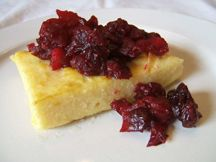 Recipes - Polenta with cranberry apple compote - Heart and Stroke Foundation of Canada Heart Healthy Breakfast, Healthy Breakfast Recipes, Polenta, Four Micro Onde, Healthy Options, Cheesecake, Brunch, Treats, Apple