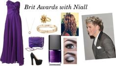 """Brit Awards with Niall *imagine*"" by nialls-princess-232677 ❤ liked on Polyvore"
