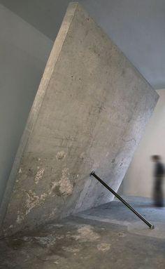 iheartmyart: Arcangelo Sassolino (Italian), Momento, 2006 via contemporary-art-blog, artlistpro