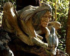 Bruno Torf's fantasy garden sculptures