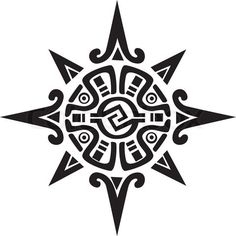 Blackfoot Indian Warrior Symbol | Aztec Symbols For Power Symbol of a sun or star'